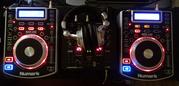 2xNumark NDX400(USB!) + Behringer VMX100(USB!)